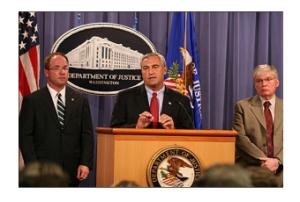 FBI & DOJ announce CASE CLOSED (Aug 08)