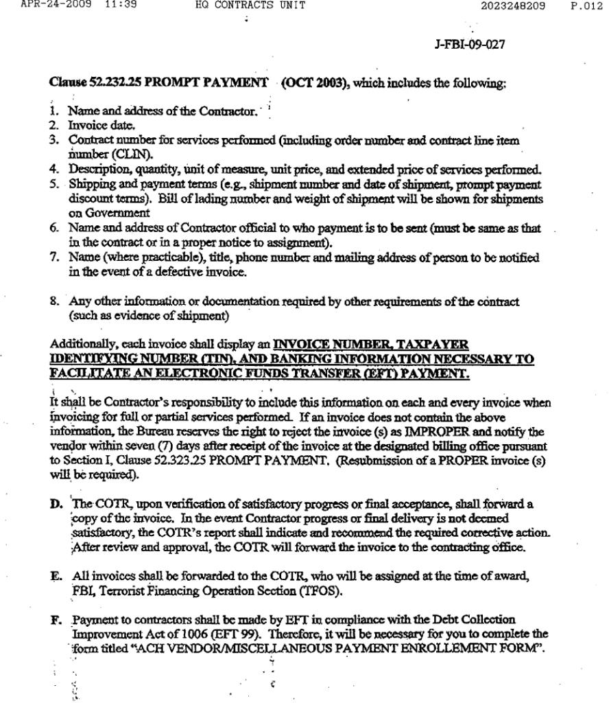 NAS-FBI contract10