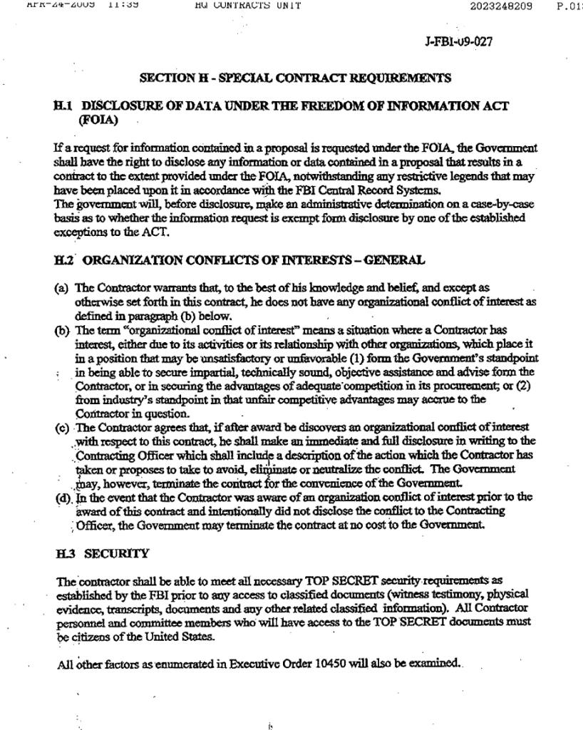 NAS-FBI contract11