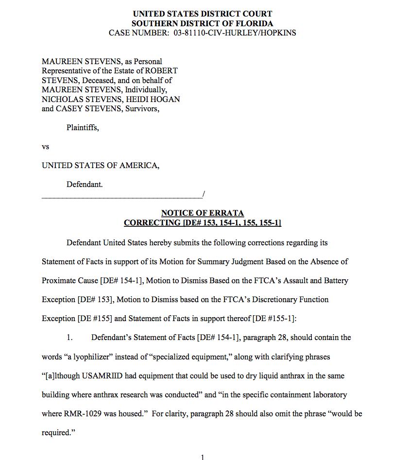 Department of justice notice of errata filed july 19 2011 case department of justice notice of errata filed july 19 2011 altavistaventures Gallery