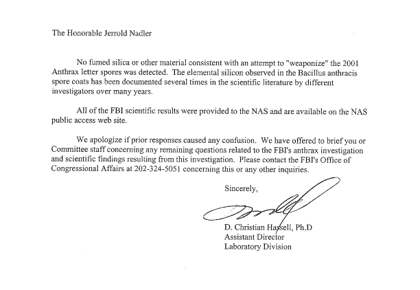 Recent correspondence between congressman jerrold nadler and the aug 9 2011 pronofoot35fo Choice Image