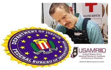 Ivins & FBI logo